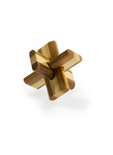 Educa Eureka Bamboo Puzzle Doublecross Renkli